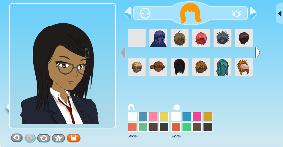 Anime Character Design Generator : Site update added more quick full video makers and